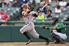 2014年MiLB -棒球面团 免版税库存照片