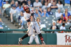 2014 MiLB - baseball batter Stock Photography