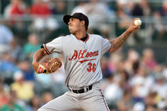 2014 MiLB - baseball pitcher Royalty Free Stock Image