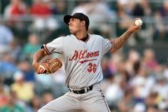 2014 MiLB - Baseballwerfer Lizenzfreies Stockbild