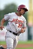 2014 MiLB - baserunner del béisbol Imagenes de archivo