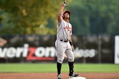 2014 MiLB - honkbal baserunner Stock Afbeeldingen