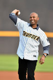 2014 MiLB - Mariano Rivera Royalty-vrije Stock Foto