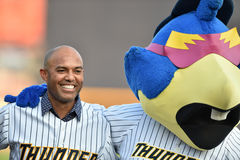 2014 MiLB - Mariano Rivera Royalty Free Stock Image