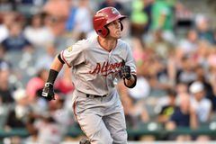 2014 MiLB - pâte lisse de base-ball Photos stock