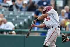 2014 MiLB - talud del béisbol Fotografía de archivo