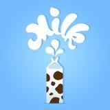Milch lizenzfreie abbildung