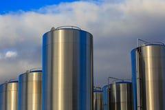 Milch-Behälter Lizenzfreie Stockfotos