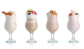 Milch coctails Stockfotos