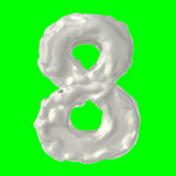 Milch der Nr. 8 Lizenzfreies Stockfoto