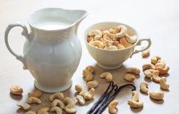 Milch des strengen Vegetariers von den Acajoubäumen Lizenzfreies Stockfoto