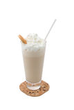 Milch-Sahnecocktail Lizenzfreie Stockfotos