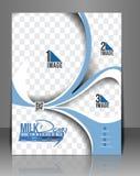 Milch-Speicher-Flieger stock abbildung