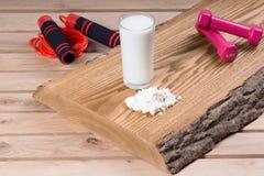 Milch und Klumpen lizenzfreies stockfoto