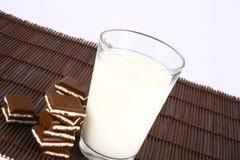 Milch und Schokolade Lizenzfreies Stockbild