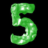Milchgrün der Nr. 5 Stockfoto