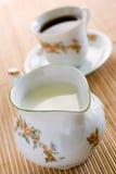 Milchkrug stockfoto
