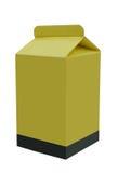Milchpapierkarton lizenzfreie abbildung