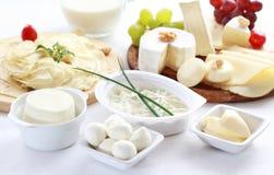 Milchprodukte Stockfotos