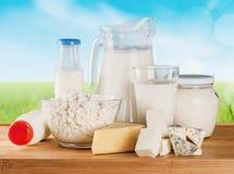 Milchprodukte stockfotografie