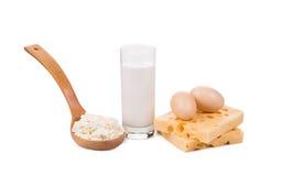Milchprodukte und Eier Lizenzfreie Stockbilder