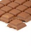 Milchschokolade Stockfoto
