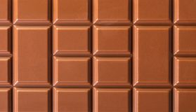 Milchschokolade-Beschaffenheitsnahaufnahme Stockfoto