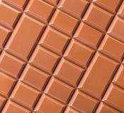 Milchschokolade-Beschaffenheitsnahaufnahme Stockfotos