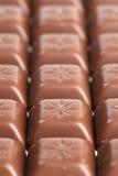 Milchschokoladepralinen Stockbilder