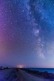 Milchstraße Lizenzfreie Stockfotos