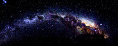 Milchstraße in Antarktik