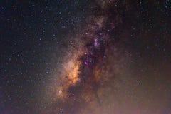 Milchstraße auf dem Himmel lizenzfreies stockbild