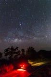 Milchstraße mit Augen Lizenzfreie Stockbilder