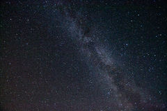 Milchstraße Schöner Sommernächtlicher himmel mit Sternen Lizenzfreie Stockbilder