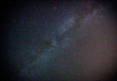 Milchstraße und sternenklarer Himmel Stockbilder