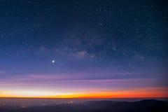 Milchstraßegalaxie Lizenzfreies Stockfoto