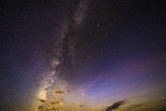 Milchstraßehintergrund Lizenzfreie Stockbilder