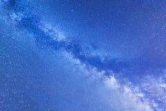 Milchstraßelandschaft Stockfotografie