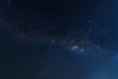 Milchstraßestern und -wolke Lizenzfreie Stockfotografie