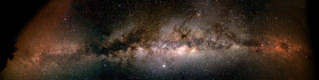 Milchstraße von Horizont zu Horizont - Namibia Stockfoto