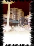 milczenie miasta Obrazy Stock