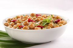 Mild Spicy  Channa masala from Indian Cuisine. Stock Image