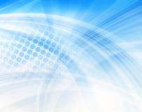 Mildern Sie Streifen- und Punktmuster Lizenzfreies Stockfoto