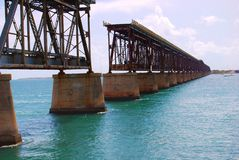 7 Mile Bridge Florida Keys Royalty Free Stock Image