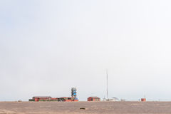 Mile-108 Campsite between Ugabmund and Henties Bay Stock Photos