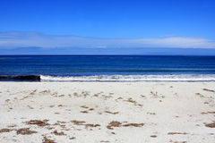 17 Mile Drive beach Royalty Free Stock Image