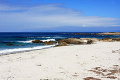 17 Mile Drive beach Royalty Free Stock Photography