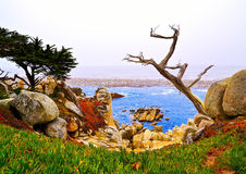 17 mile drive Stock Images