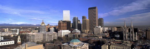 Mile High City Stock Photography