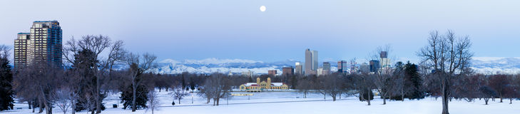 Mile High City of Denver Stock Images
